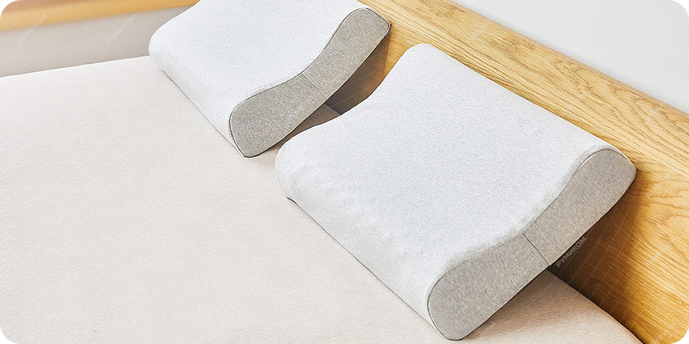 Подушка латексная Xiaomi Mijia Natural Latex Neck Pillow (MJRJZ01N8H)